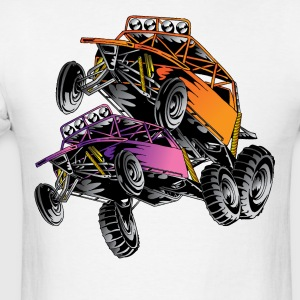 Orange Race Desert Buggy T-Shirts - Men's T-Shirt