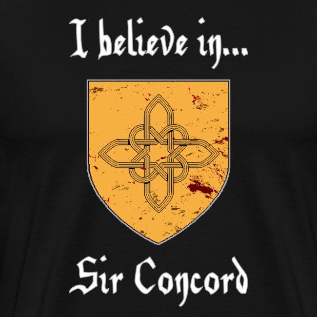 I Believe in...Sir Concord (Men)