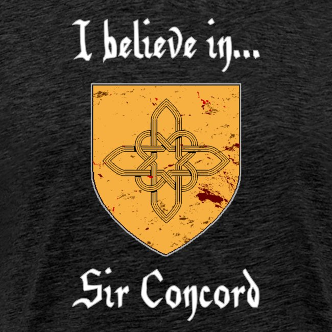 I Believe in...Sir Concord (Men)