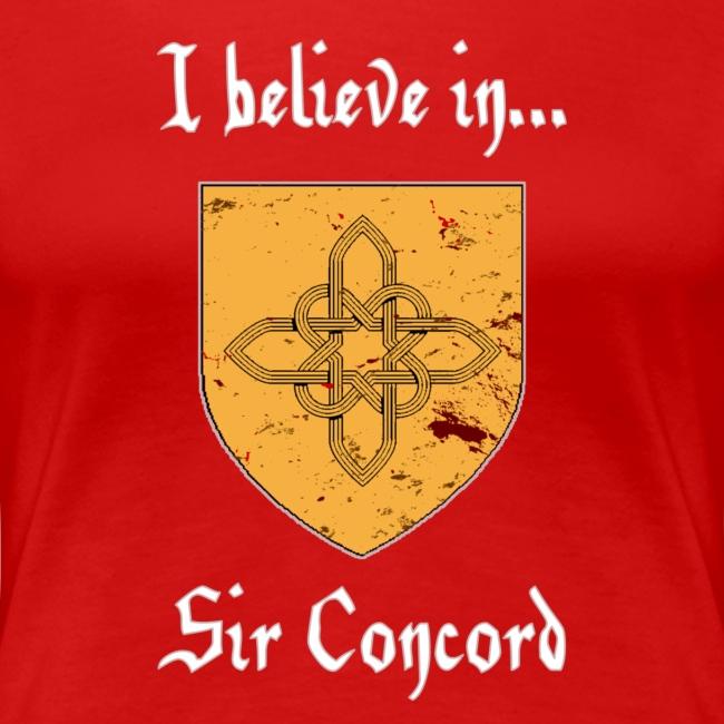 I Believe in...Sir Concord (Women's)