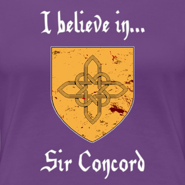 I Believe in...Sir Concord (Women's)