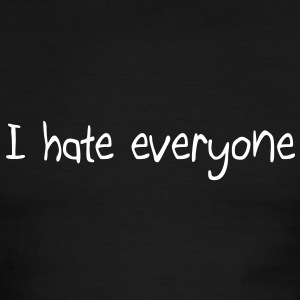 I hate everyone T-Shirts - Men's Ringer T-Shirt
