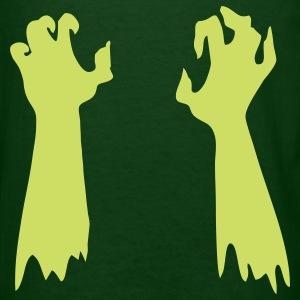 Glow Zombie Arms - Men's T-Shirt