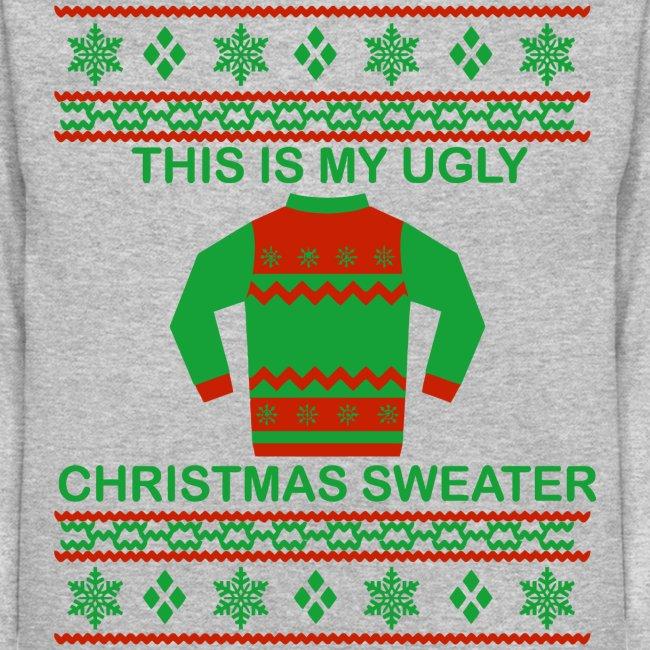 Pygodcom The Ugliest Christmas Sweater Ever Molleton à