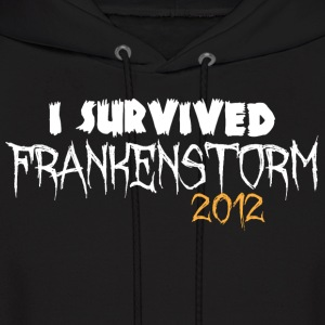 I survived Frankenstorm 2012 Hoodies - Men's Hoodie