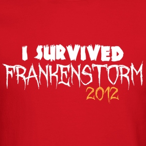 I survived Frankenstorm 2012 Long Sleeve Shirts - Crewneck Sweatshirt