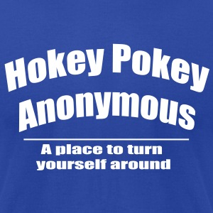 Hokey Pokey Anonymous - Men's T-Shirt by American Apparel