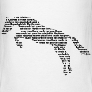 horse words T-Shirts - Men's T-Shirt