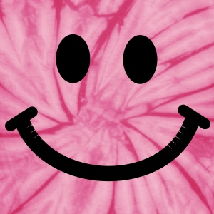 Happy Smiley Face T-Shirts - Unisex Tie Dye T-Shirt