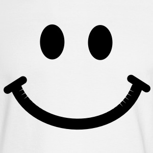 Happy Smiley Face Long Sleeve Shirts - Men's Long Sleeve T-Shirt