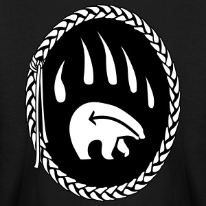 First Nations Kid's Bear Shirt Long Sleeve - Kids' Long Sleeve T-Shirt