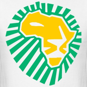 Lion Head This Time For Africa - Men's T-Shirt