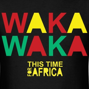 Waka-waka This Time For Africa - Men's T-Shirt