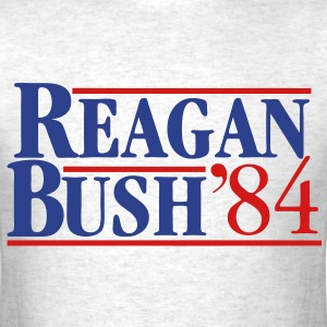 Reagan Bush '84 T-Shirts - Men's T-Shirt