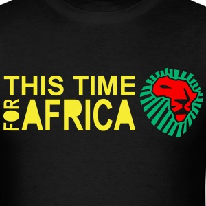This Time For Africa Lion Head - Men's T-Shirt