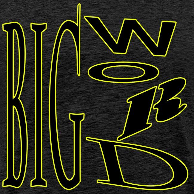 Big Word Yellow & Black