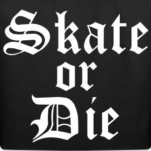 Skate or Die Tote Bag - Eco-Friendly Cotton Tote