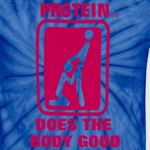 Protein Does The Body Good T-Shirts - Unisex Tie Dye T-Shirt