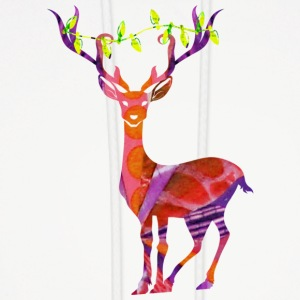 DEER with XMAS LIGHTS Hoodies - Men's Hoodie