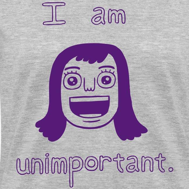 Unimportant (v-neck girls)