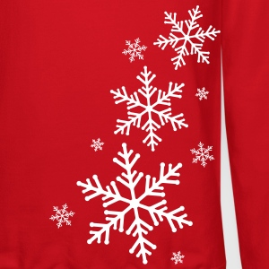 Snowflake Long Sleeve Shirts - Crewneck Sweatshirt