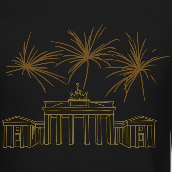 berlin new years eve brandenburg gate gold