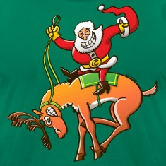 Christmas Rodeo T-Shirts
