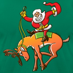 Christmas Rodeo T-Shirts - Men's T-Shirt by American Apparel