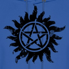 Anti-Possession Symbol Dark (Broken).png Hoodies