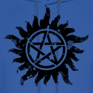 Anti-Possession Symbol Dark (Broken).png Hoodies - Men's Hoodie