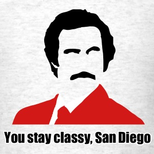 you stay classy san diego T-Shirts - Men's T-Shirt