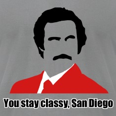 you stay classy san diego T-Shirts