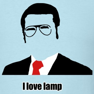i love lamp T-Shirts - Men's T-Shirt