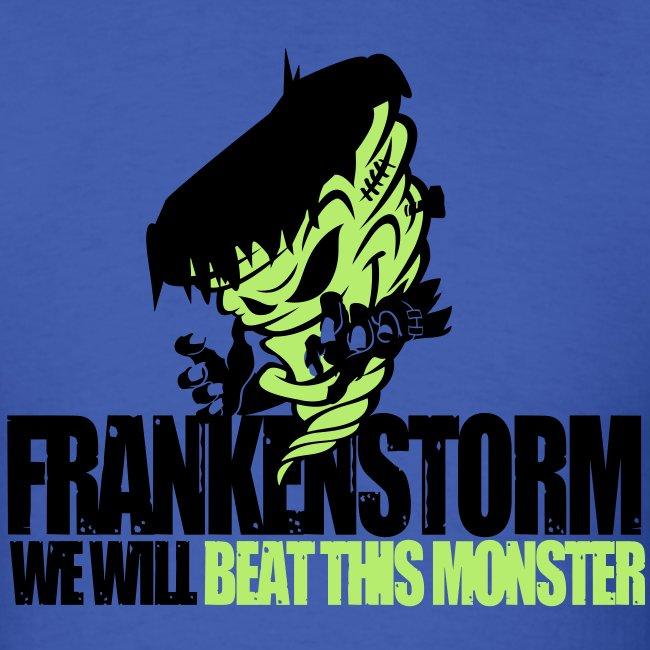 FrankenStorm Hurricane Sandy Support Shirt