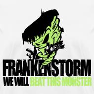 Design ~ FrankenStorm Hurricane Sandy Support Shirt Womens