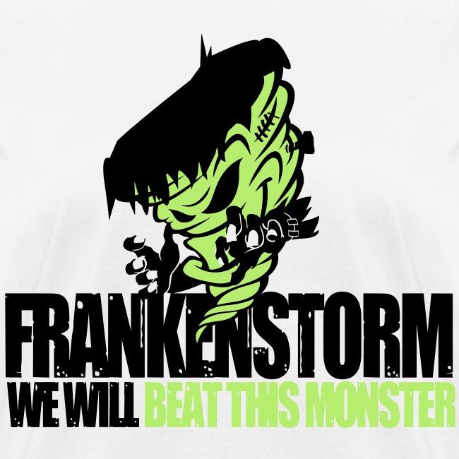 FrankenStorm Hurricane Sandy Support Shirt Womens