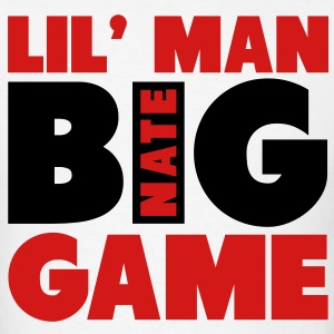 Lil' Man, Big Game! Nate Robinson Shirt T-Shirts - Men's T-Shirt