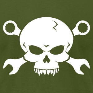 Skull 'n' Tools - Screw Pirate 2 T-Shirts - Men's T-Shirt by American Apparel