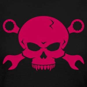Skull 'n' Tools - Screw Pirate 2 Long Sleeve Shirts - Women's Long Sleeve Jersey T-Shirt
