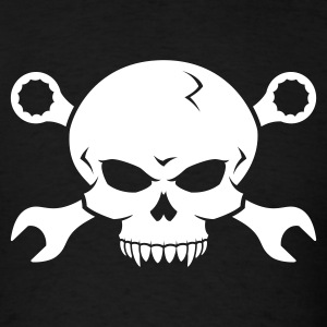 Skull 'n' Tools - Screw Pirate 2 T-Shirts - Men's T-Shirt