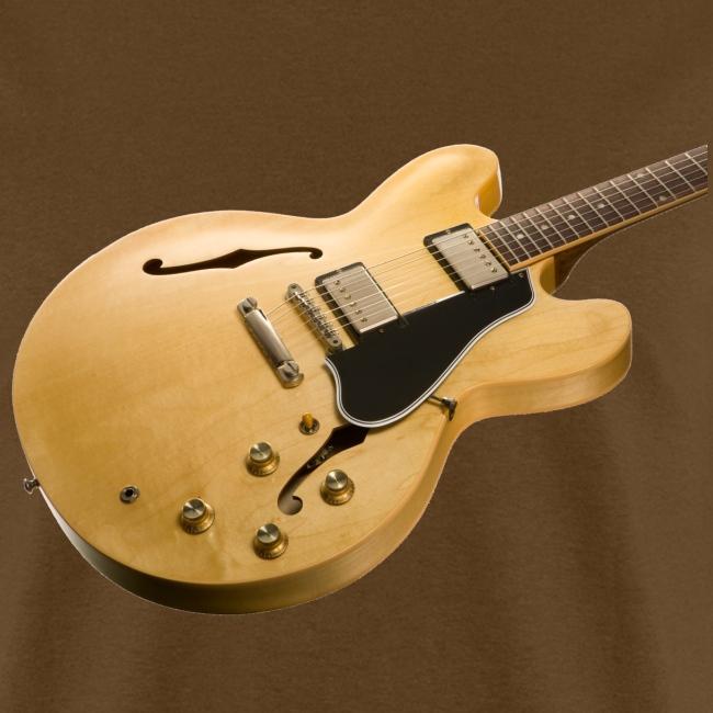 Natural ES-335 Guitar