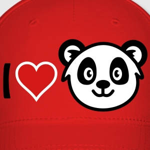 I love Panda Caps - Baseball Cap