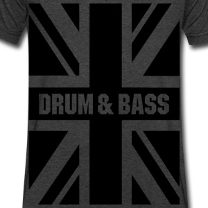 Drum & Bass UK T-Shirts - Men's V-Neck T-Shirt by Canvas