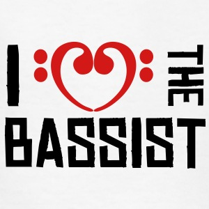 I love the Bassist Kids' Shirts - Kids' T-Shirt
