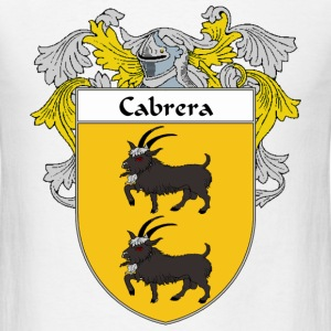 Cabrera Coat of Arms/Family Crest - Men's T-Shirt