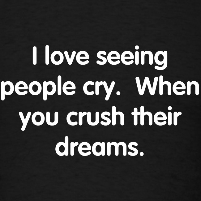 Seeing People Cry T-Shirt