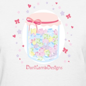 Kawaii Star Candy Lolita Jar - Women's T-Shirt