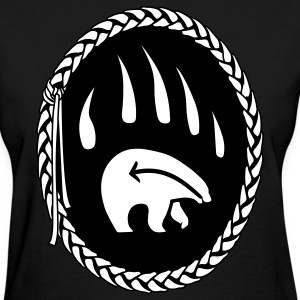 Tribal Bear Art Women's Shirts First Nations - Women's T-Shirt