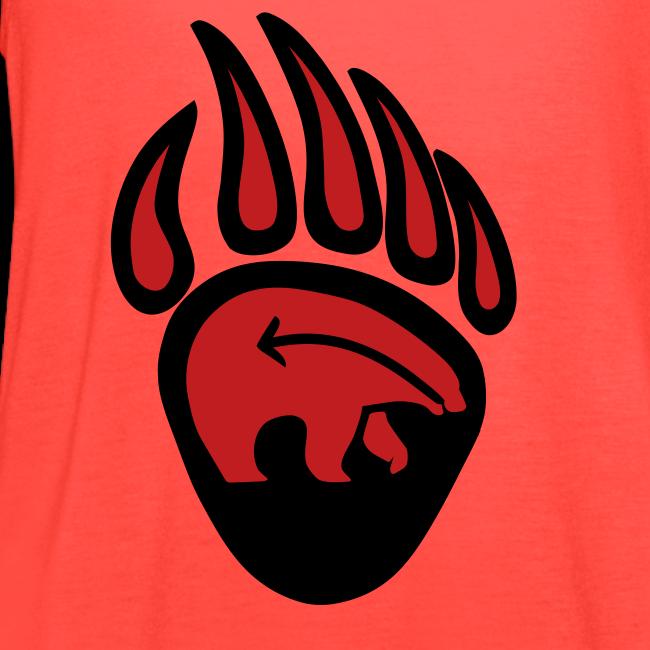 Tribal Claw Art Women's Shirts