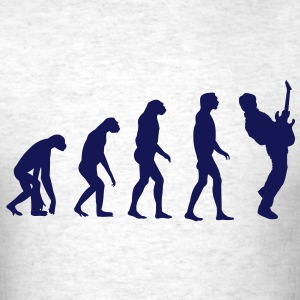 Guitar Player Evolution T-Shirts - Men's T-Shirt